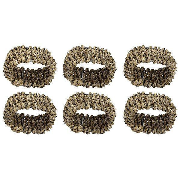 Jogo de Anéis Para Guardanapo - 4 Peças - Mimo Style