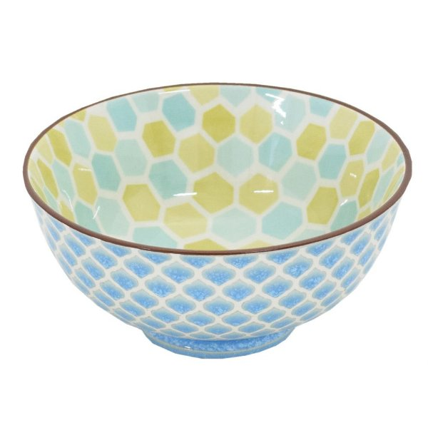 Bowl em Porcelana 280ml - Hexagonal - Full Fit