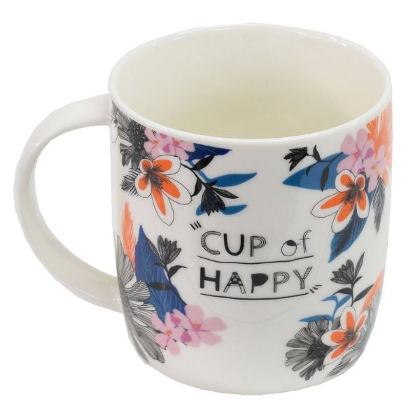 Caneca Free Life 340ml - Cup Of Happy - Dynasty