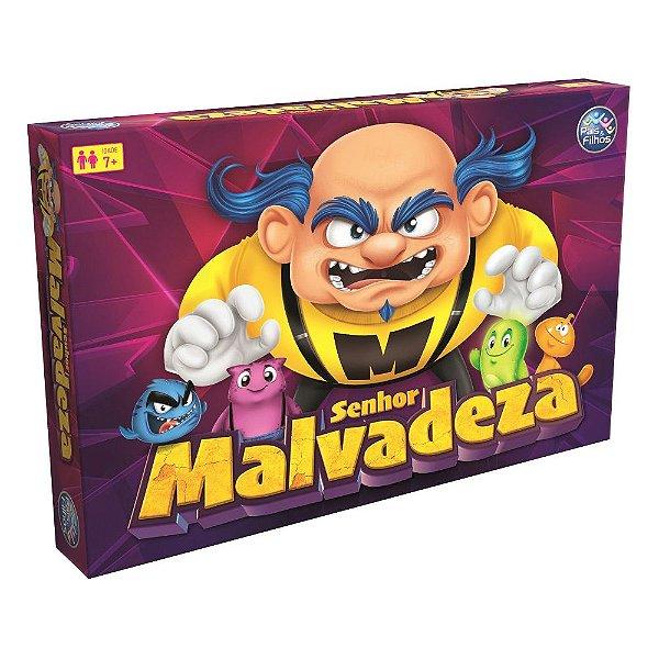 Jogo Senhor Malvadeza - Pais e Filhos