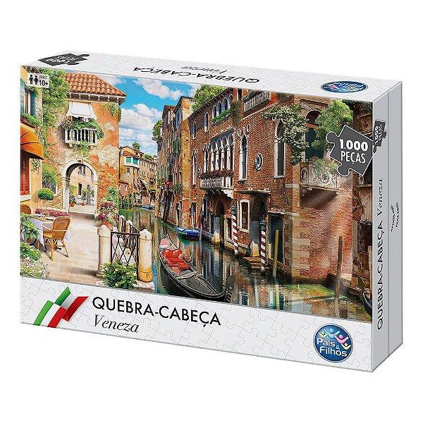 Quebra-Cabeça Veneza - 1040 Peças - Pais e Filhos