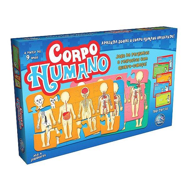 Jogo e Quebra-Cabeça Corpo Humano - Pais e Filhos