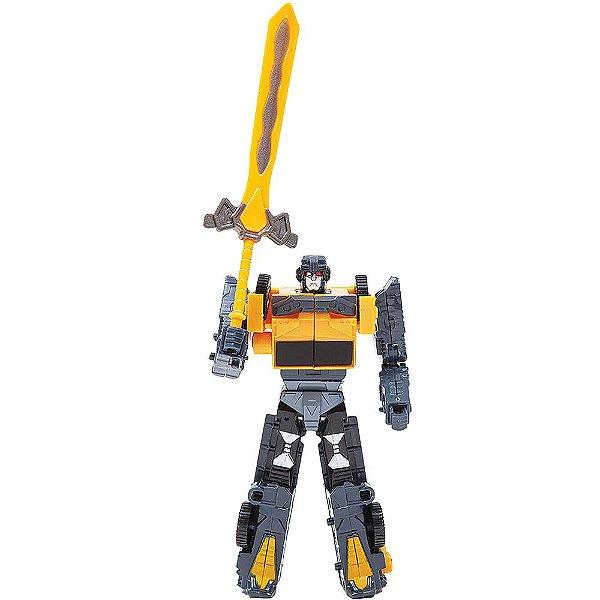 Robô Transformável - Guindaste Hidráulico - Buba