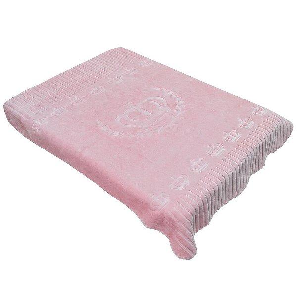 Cobertor Para Berço Exclusive - Unique Rosa - Colibri