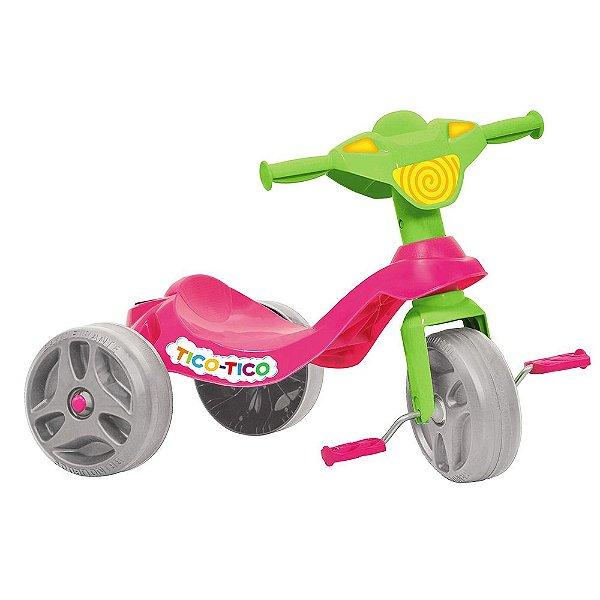 Triciclo Tico Tico Rosa - Bandeirantes