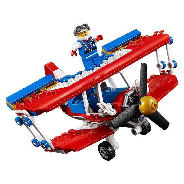Lego Creator 3 em 1 - Avião Acrobacias Ousadas - 200 Peças - Lego