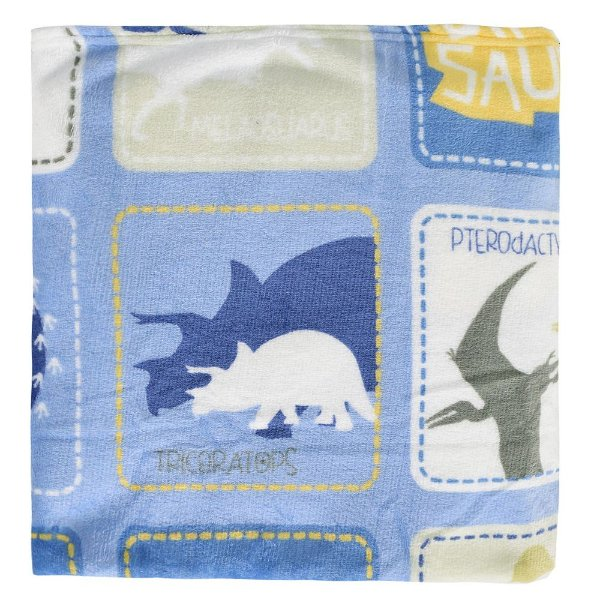 Cobertor Ultrasoft Infantil - Linha Berço - Dinos - Parahyba