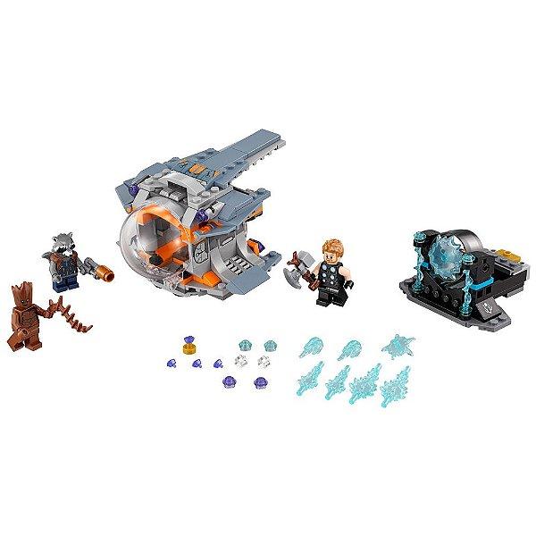 Lego Super Heroes - Procura da Arma de Thor - 223 Peças - Lego