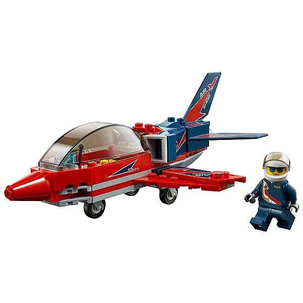 Lego City - Espetáculo Aéreo - 87 Peças - Lego