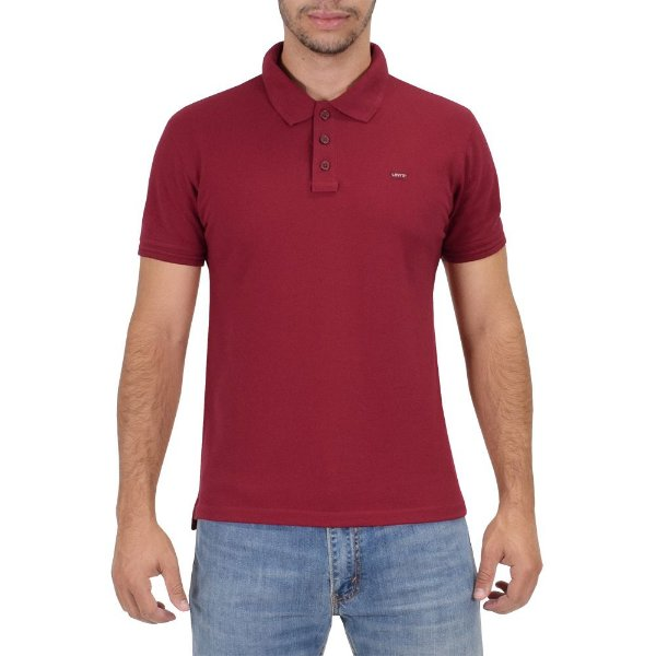 Camiseta Polo Masculina - Vermelha - Levis