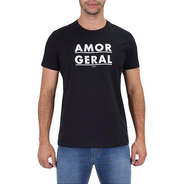 T-shirt Masculina Amor Geral - Ellus