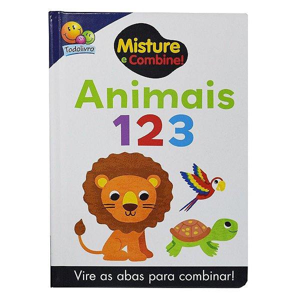 Misture e Combine! - Animais 123 - Todolivro
