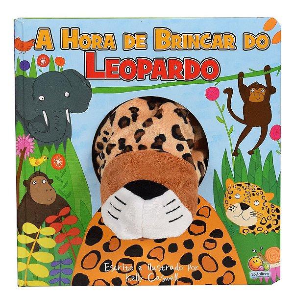 Livro Fantoche da Bicharada - A Hora de Brincar do Leopardo - Todolivro