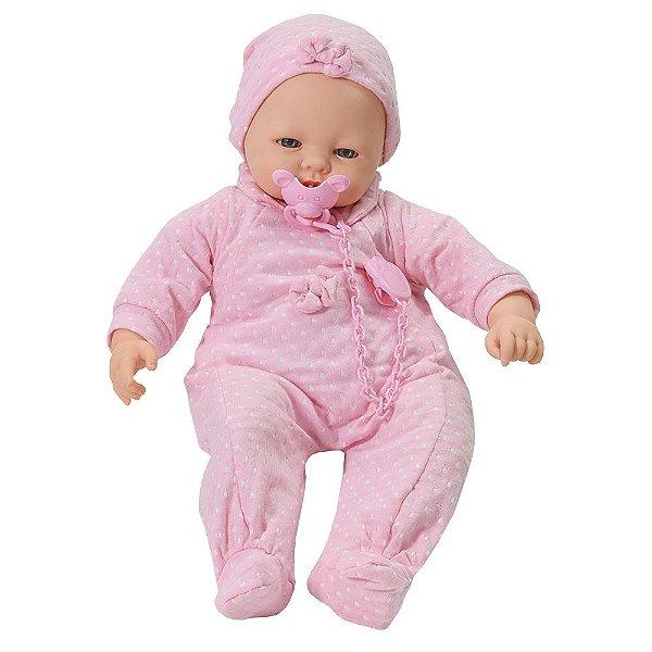 Boneca Bebê Check-me - Roma