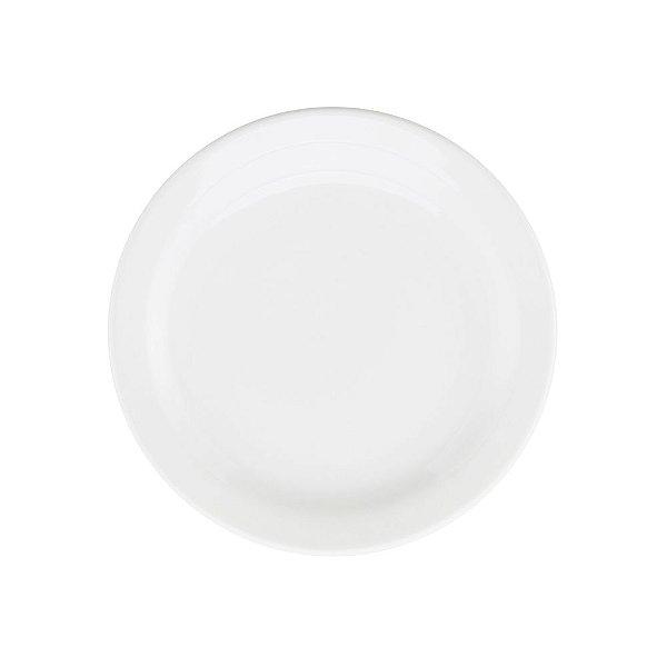 Prato de Sobremesa Floreal White 20cm - Oxford