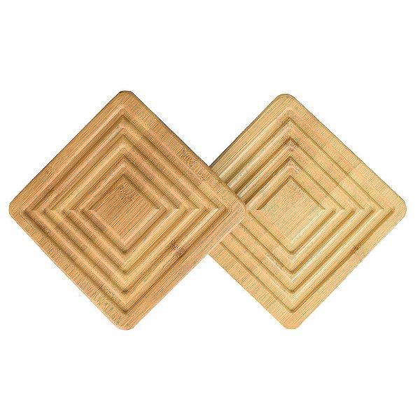 Conjunto de Apoio Para Panela Bamboo -  2 Peças  - Mor