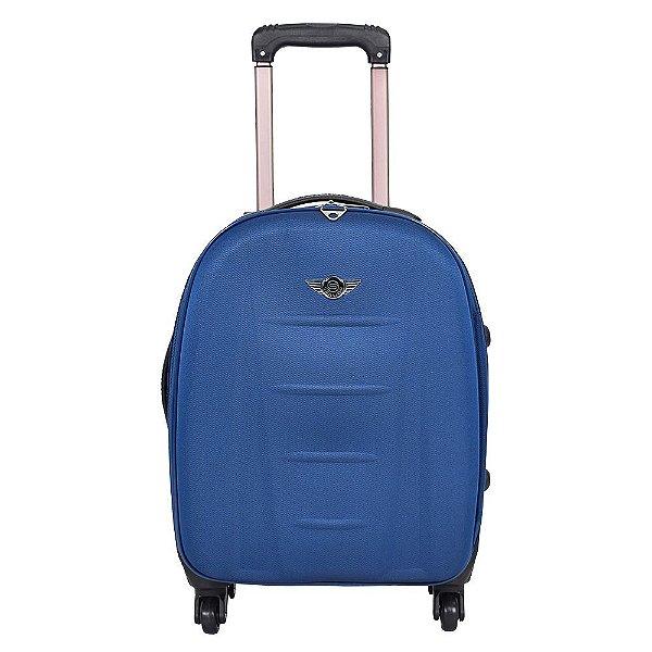 """Mala de Viagem EVA Pequena 20"""" - Azul - Santino"""