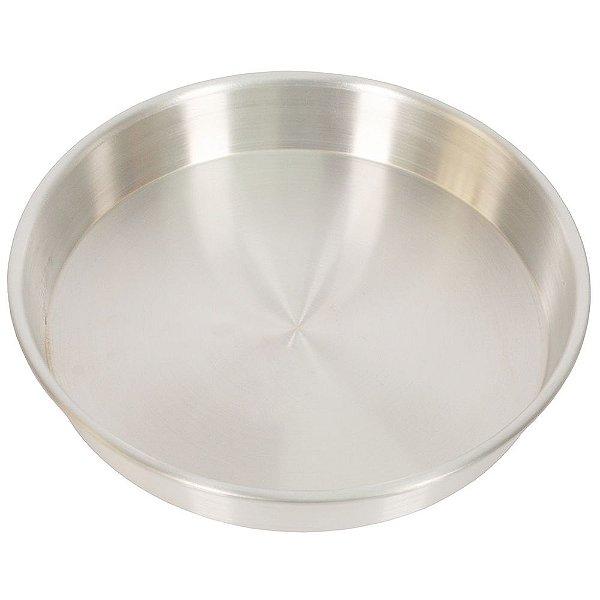 Assadeira de Alumínio Redonda - 30 x 5 - Nigro