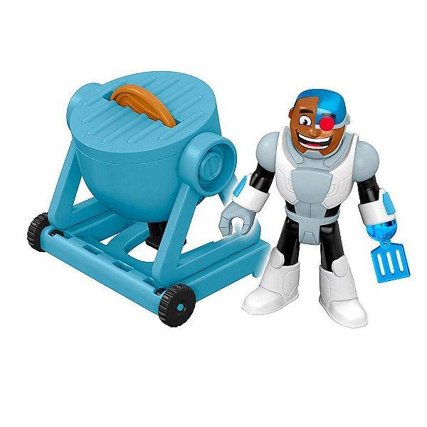 Imaginext Teen Titans Go - Cyborg Festa da Comida - Mattel