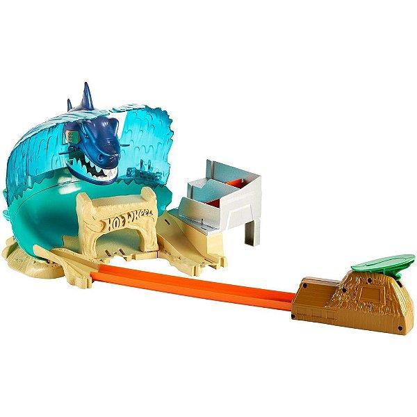 Hot Wheels Batalha na Praia do Tubarão - Mattel
