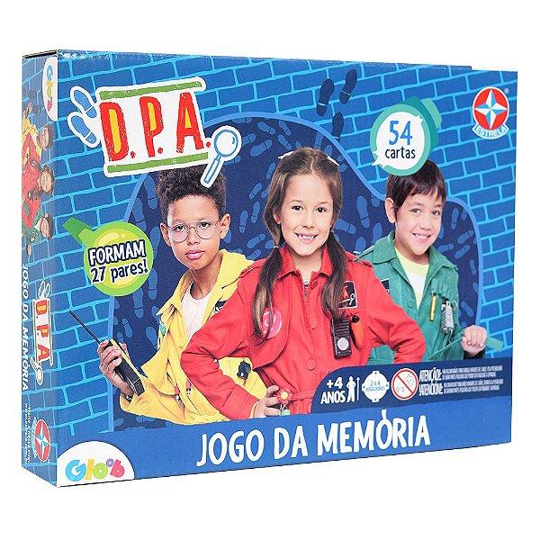Jogo da Memória D.P.A. - 54 Cartas - Estrela