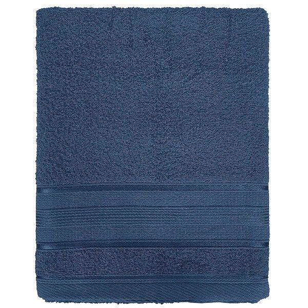 Toalha de Banho Royal Knut - Azul Marinho - Santista