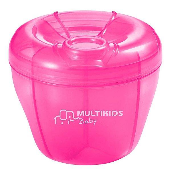 Dosador de Leite em Pó Rosa - Multikids