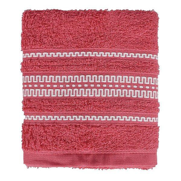 Toalha de Rosto Royal Poly - Vermelha - Santista