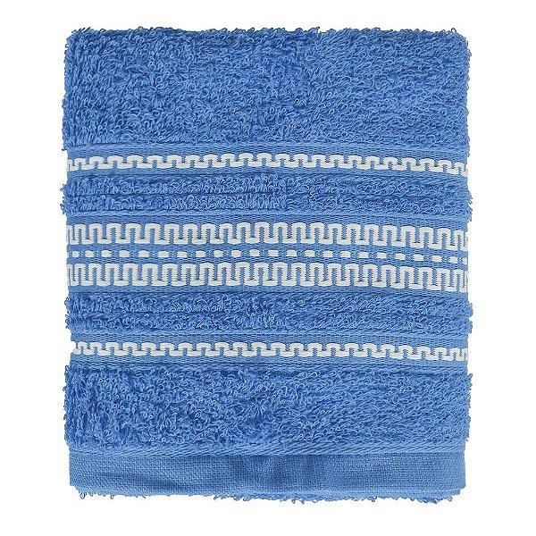 Toalha de Rosto Royal Poly - Azul - Santista