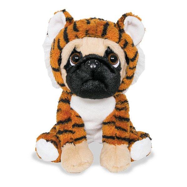 Pug Tigrinho de Pelúcia - Buba