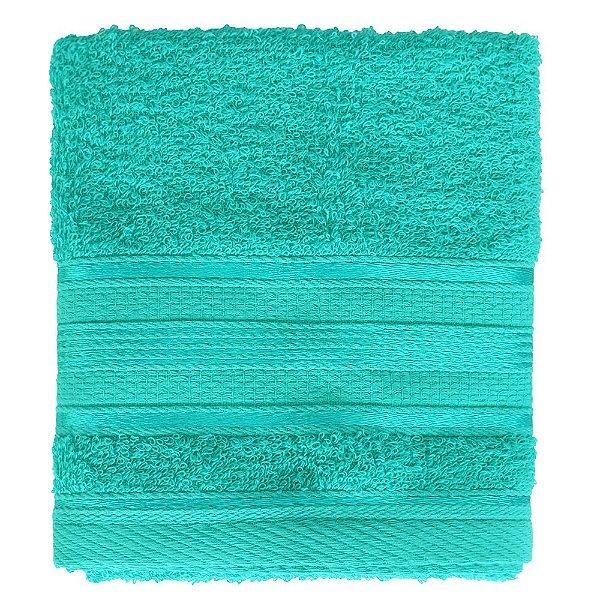 Toalha de Rosto Royal Knut - Azul Turquesa - Santista