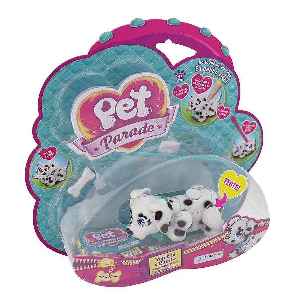 Pet Parade Cães - Preto e Branco - Multikids