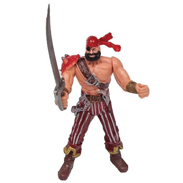 Boneco Piratas dos Sete Mares - Vermelho - Buba