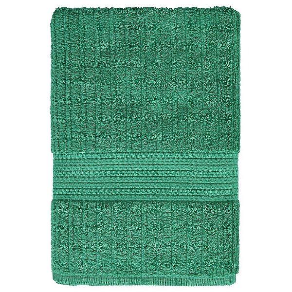 Toalha de Banho Canelada Fio Penteado - Verde Esmeralda 1869 - Buddemeyer