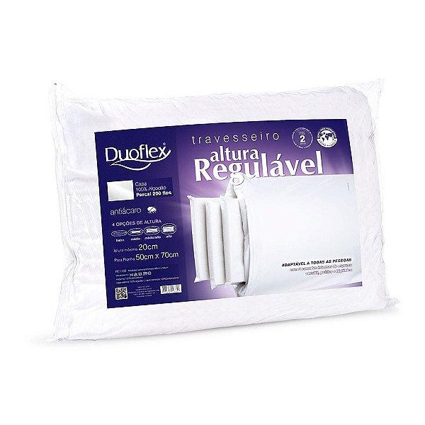 Travesseiro Altura Regulável - Duoflex