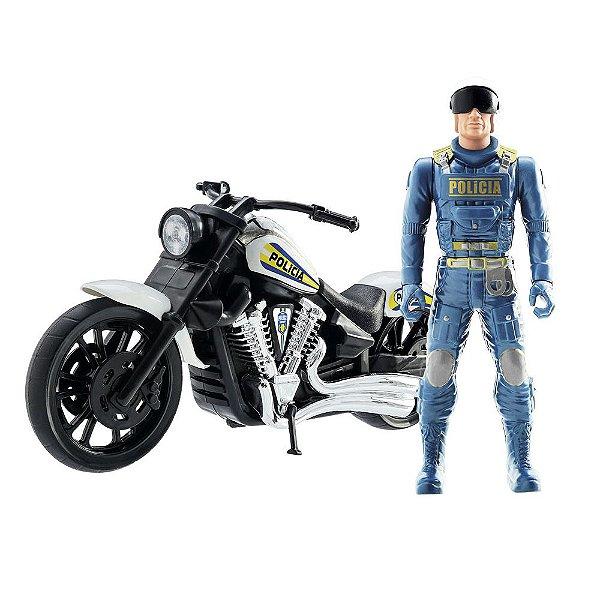 Moto Patrulha Police - BS Toys