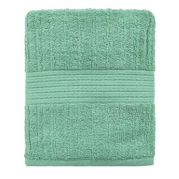 Toalha de Rosto Canelada Fio Penteado - Azul Tiffany 1966 - Buddemeyer