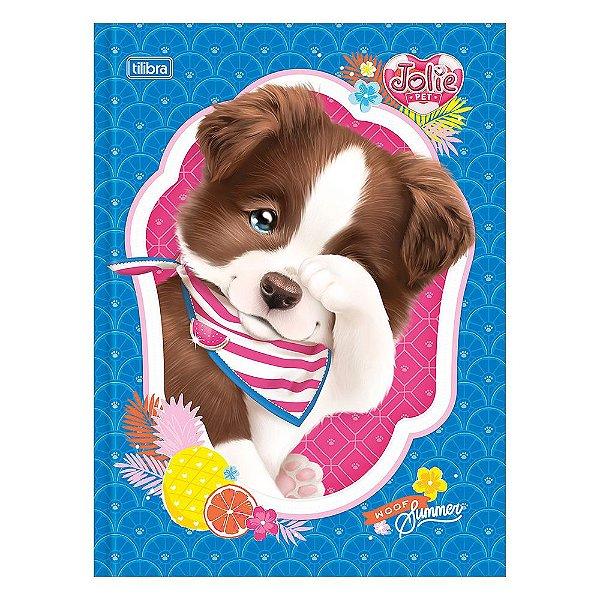 Caderno Brochura Jolie Pet - Cachorrinho - 80 Folhas - Tilibra