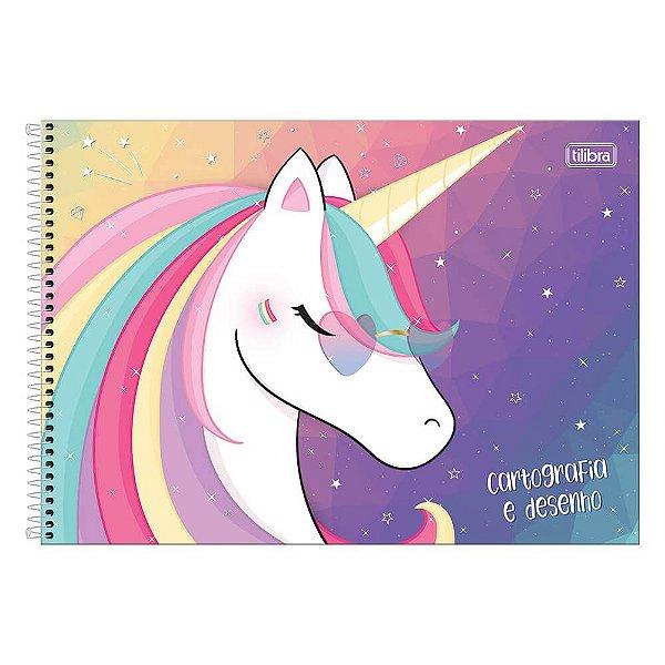 Caderno de Cartografia e Desenho Blink - Unicórnio - Tilibra