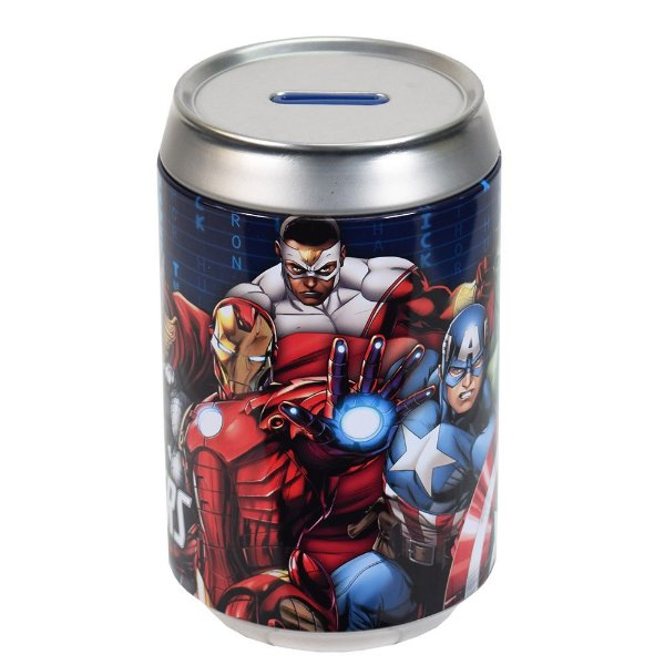 Cofre em Alumínio Avengers - Zona Criativa