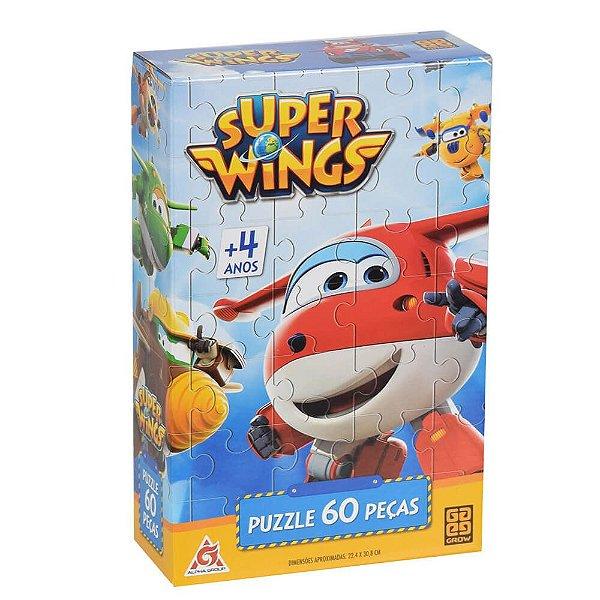 Puzzle 60 Peças - Super Wings - Grow
