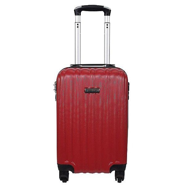 Mala de Viagem em ABS Palmas Pequena - Vermelha - Santino