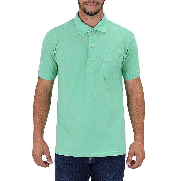 Camisa Polo Masculina - Verde Claro - Wayna