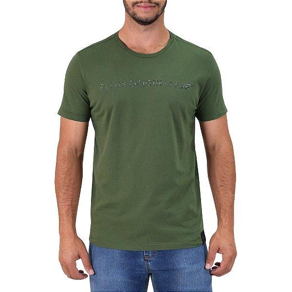 Camiseta Masculina Originals E - Verde Militar - Ellus