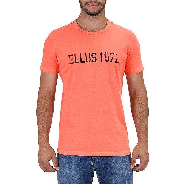 Camiseta Masculina Vintage 1972 - Laranja - Ellus