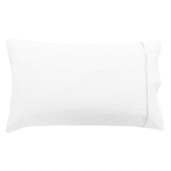 Fronha Para Travesseiro Pós Berço - Branca - Lavive