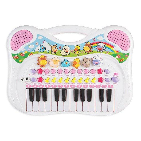 Piano Musical - Menina - Braskit