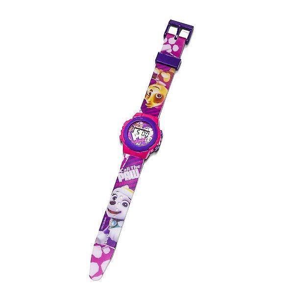 Relógio Infantil Patrulha Canina - Menina - DTC