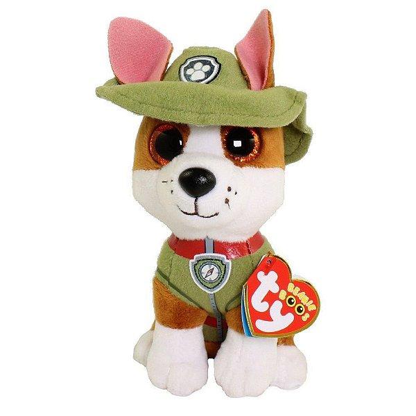 Pelúcia Ty Beanie Boos - Tracker - Patrulha Canina