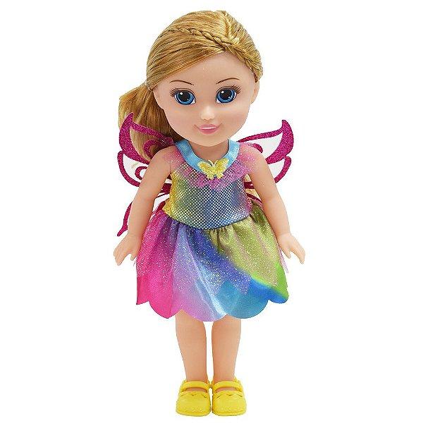 Boneca Sparkle Girlz - Fada Loira - DTC